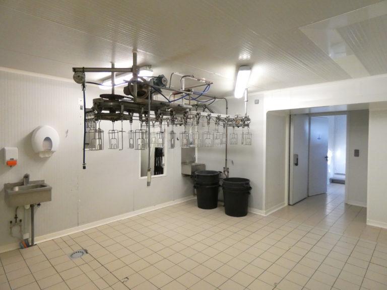 Salle d'eviscération